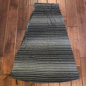 Mission maxi Skirt Striped